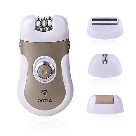 Эпилятор пемза ROZIA HB-6006 4в1, фото 2