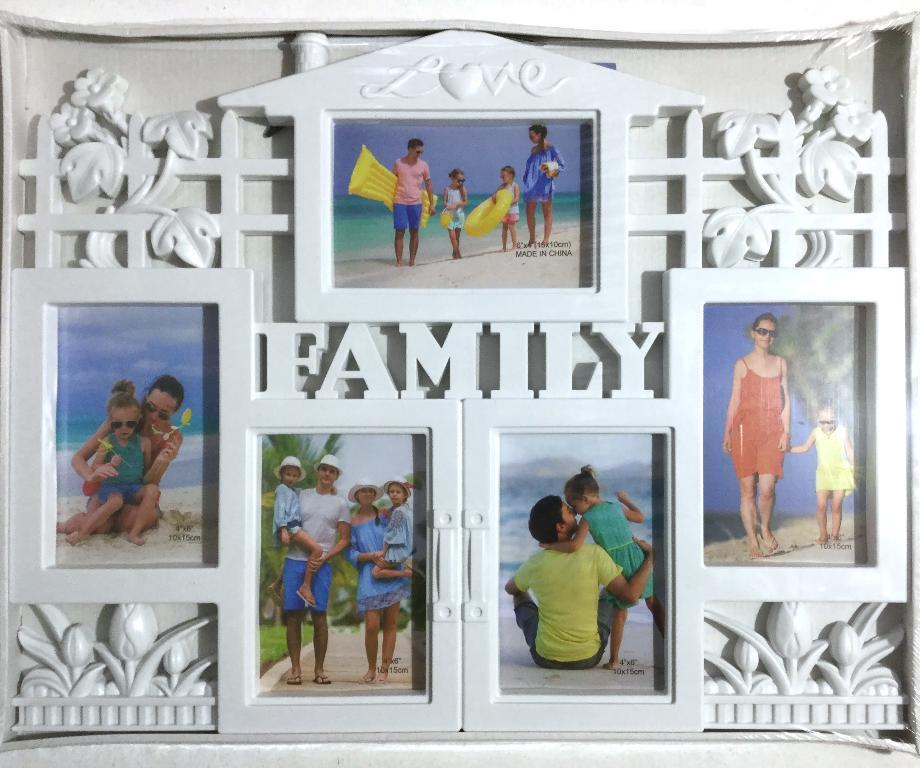 Коллаж на 5 фото Family Love