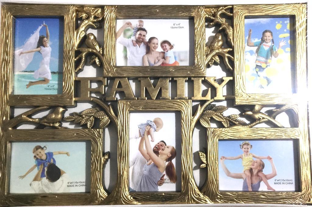 Коллаж рамка на 6 фото 10х15 см,(XZ-1816)
