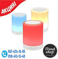 Портативная колонка Bluetooth S-66 Touch sound lamp + сенсорный светильник, фото 1