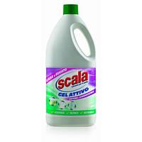 Активний гель-відбілювач з милом (для прання і прибирання) / SCALA candeggina gel attivo 2000ml.