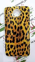 Чехол для HTC Desire 601 (Леопардовый принт)