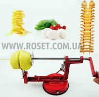 Картофелечисткой со спиральной нарезкой Spiral Potato Slicer, фото 1