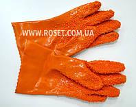Перчатки для чистки овощей резиновые