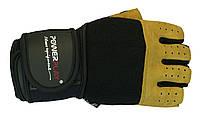 Перчатки с вентиляцией и двойным швом. Черный, фото 1