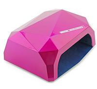 Гібридна УФ лампа для сушіння нігтів CCFL+LED 36Вт