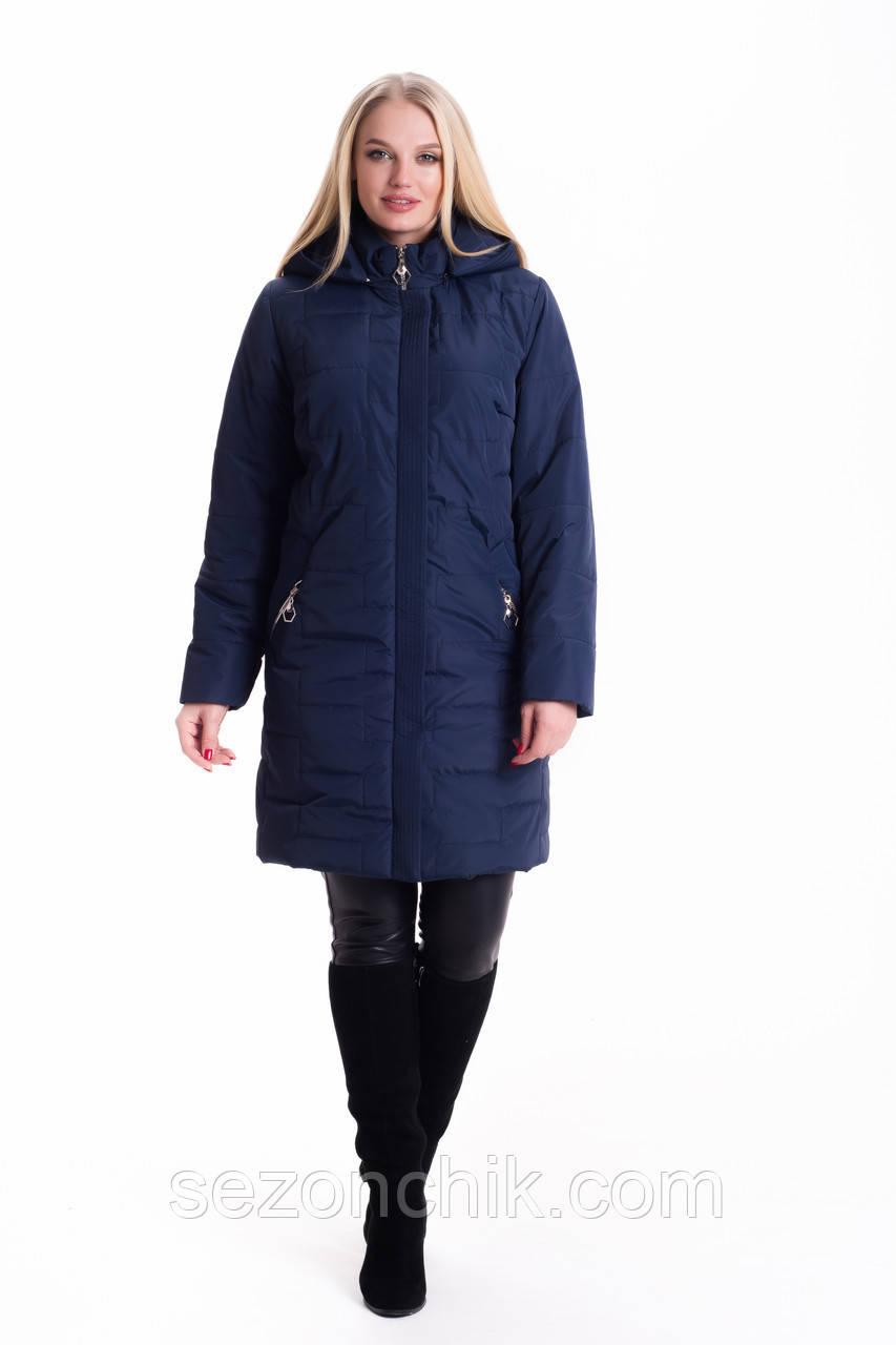 Демисезонные женские куртки большие размеры