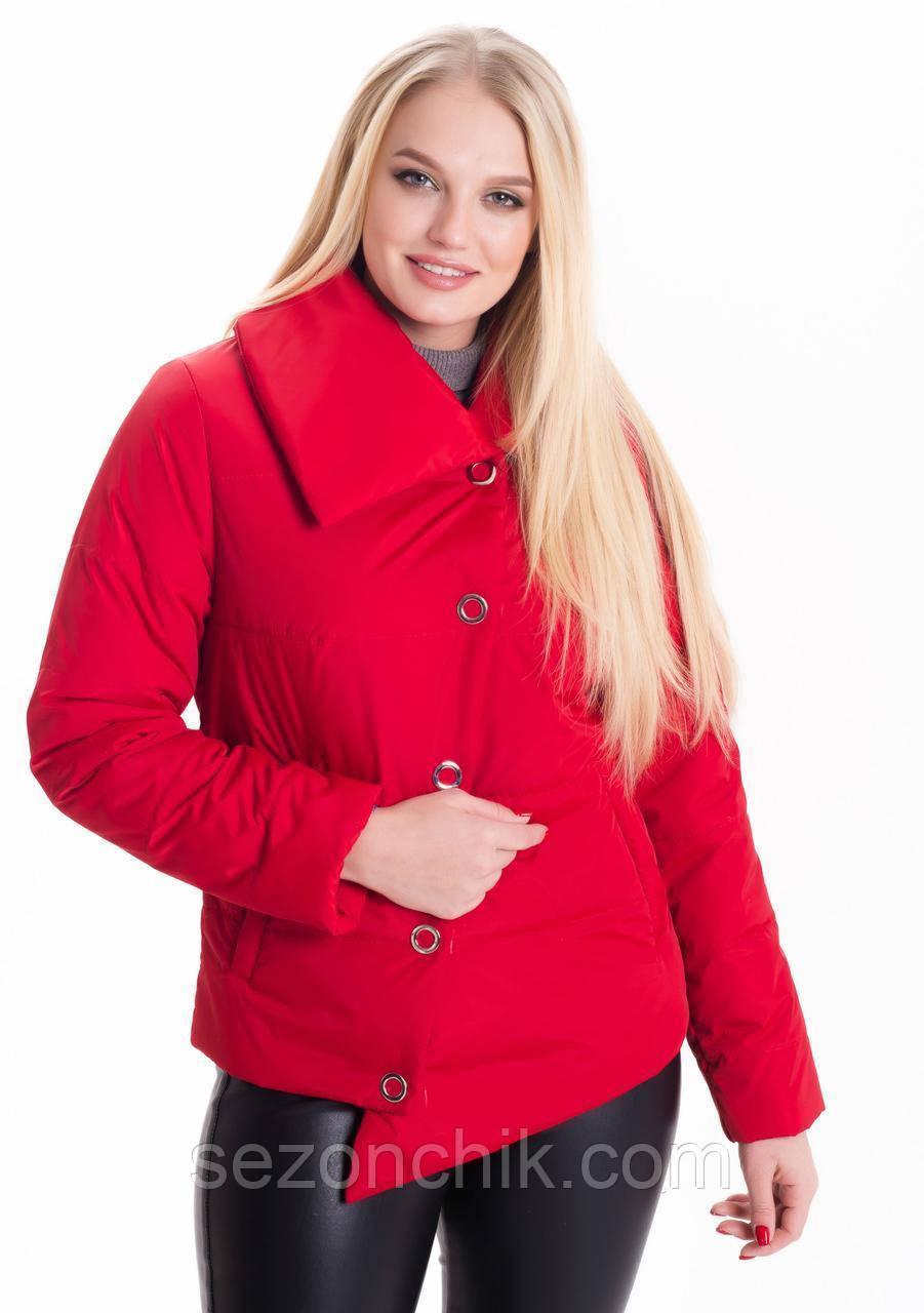 Демисезонные молодежные куртки женские короткие весенние