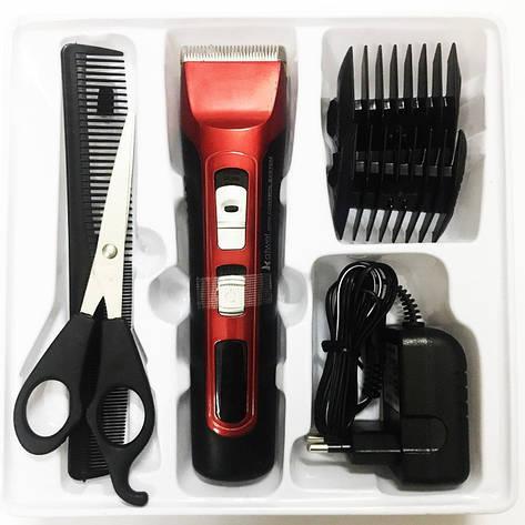 Машинка для стрижки волос Kaiwei Z-301 аккумуляторная, фото 2