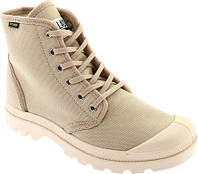 Женские ботинки Palladium Pampa Hi Originale Boot Bone Brown Canvas 2fbb0de9c86f4