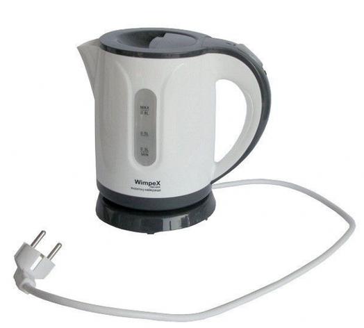 Электрочайник бытовой Wimpex WX-1122 0,8 литра, фото 2