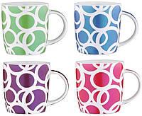 Набор кружек для чая из 4 предметов 330 мл Wellberg WB-22354