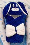 Теплый конверт- плед с капюшоном  для новорожденных, фото 10