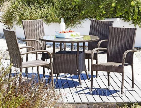 Садові меблі Стіл + 4 крісла, фото 2