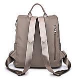 Рюкзак городской женский Valeri gray, фото 5