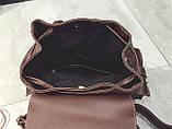 Рюкзак городской женский Simon dark brown, фото 3