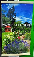 Настенный обогреватель пленочный Сад Природа Цветы 100 х 57 см 400W, фото 1
