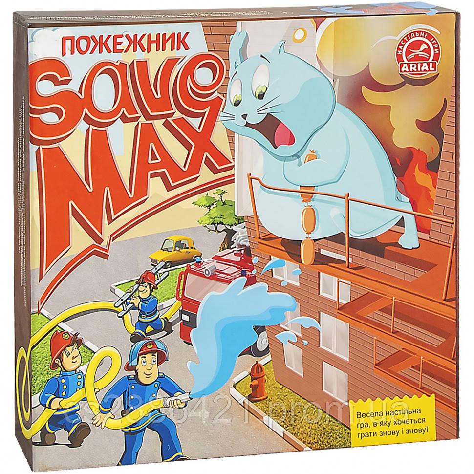 Настольная игра Arial Врятувати Макса.Пожежник 911357
