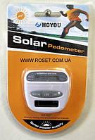 Шагомер HOYOU Solar Pedometer HY-02T, фото 1