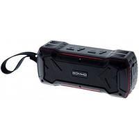 Колонка Bluetooth Somho (S335), чёрно-красный