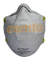 Респиратор противопылевой nitras safe-air 4110 FFP1 NR респіратор протипиловий