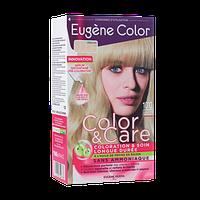 Стойкая Краска   10   Светлый Блондин Платиновый   Эжен Колор  Eugene Color, Очень Светлый Блондин, 125 мл, Колор и Уход