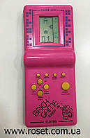 Электронная карманная Игра Tetris 9999 (розовий), фото 1
