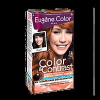 Стойкая Краска Осветление до 4 тонов    7*4   Блондин Медный    Эжен Колор Eugene Color