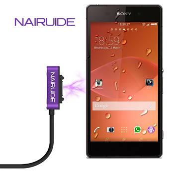 """SONY Z1 XPERIA оригинальный магнитный дата кабель шнур для телефона """"NAIRUIDE CLASIC"""""""