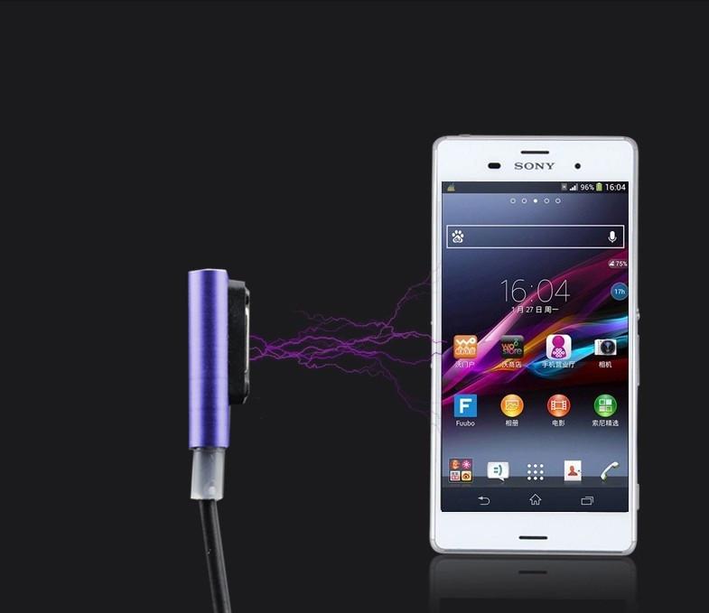 """SONY Z1 XPERIA оригинальный магнитный дата кабель шнур для телефона """"DATA MOLL"""""""