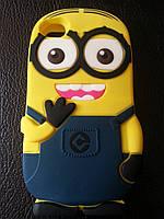 """Силиконовый чехол для iphone 4/4s """"Миньон"""" , фото 1"""