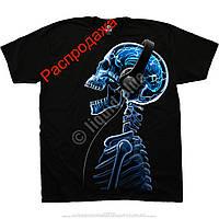 Skelephones - футболка liquid blue
