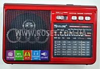 Портативный проигрыватель - Golon RX-1315 MP3 USB TF FM AUX + LED, фото 1