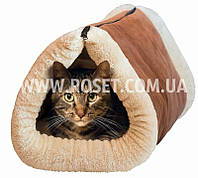 Подстилка-домик (валик) для кошек - Kitty Shack