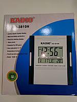 Настольные настенные  часы цифровые с индикатором. kadio kd 3810 n
