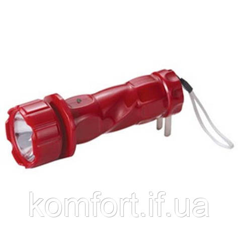 Аккумуляторный фонарь Yajia 0912, 1LED, фото 2
