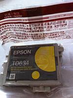 Картридж EPSON T0634 желтый для Stylus C67, Stylus C87, CX3700, CX410