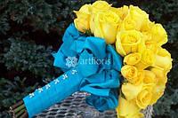 Свадебная флористика, украшение живыми цветами, букеты, композиции, цветочное оформление в европейской аранжир