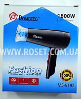 Бытовой фен для сушки волос - Domotec Hair Dryer MS-9192 1800W, фото 1