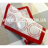Силиконовый армированный коврик для выпечки с антипригарным покрытием и разметкой - AveryBarn 42х29,5 см