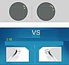"SONY Z1 XPERIA защитное стекло 9H 2.D 0.2mm с олеофобным покрытием круглый край ""ICASEVAN"" (переднее), фото 9"