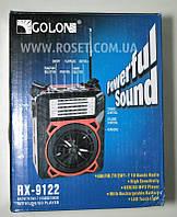 Проигрыватель переносной - Golon RX-9122 MP3 USB SD FM FlashLight