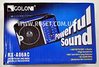 Портативный проигрыватель - GOLON RX-A06AC FM Radio, фото 1