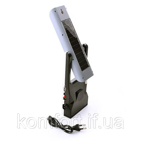 Лампа настольная Yajia 5862UT, 30SMD, солн. батарея, USB, фото 2