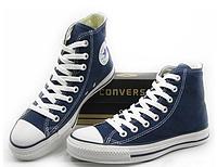 Кеды Converse All Star - Синие высокие