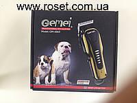 Триммер-машинка для стрижки животных Gemei GM-6063
