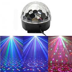 Светомузыка диско шар Magic Ball Music Super Light MP-2