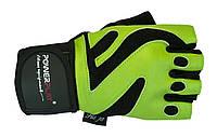 Перчатки для фитнеса и бодибилдинга - PowerPlay. Зеленый