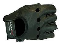 Перчатки PowerPlay с анатомическим пошивом ладони. Черный