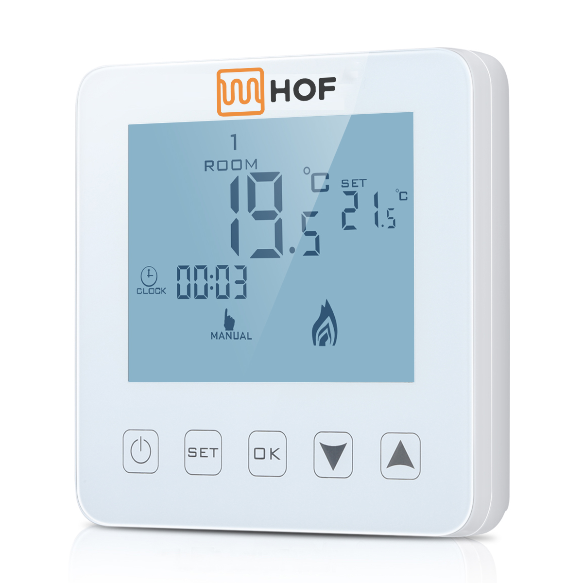 Терморегулятор для інфрачервоних панелей і обігрівачів HOF sen (Пд. Корея). Гарантія 3 роки.